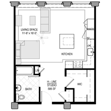 Studio Floor Plans Loom City Lofts